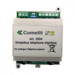 Comelit telefoon interface 2904