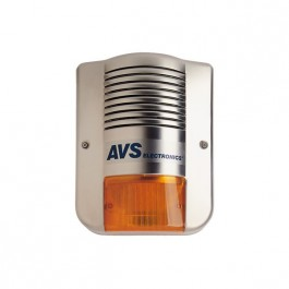 AVS TS-85X buitensirene in inox
