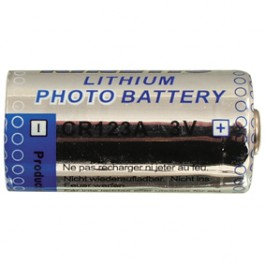 Lithium batterij 3V 1200mAh type CR123A