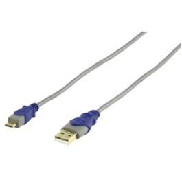 Standaard USB 2.0 & USB-micro kabel 1.80 m HQSC-015-1m8