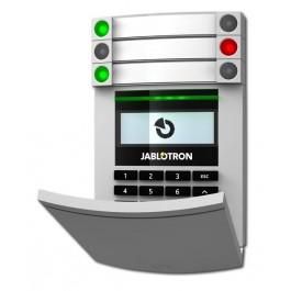 Jablotron JA-114E bedraad LCD codeklavier met RFID scanner en toetsenbord