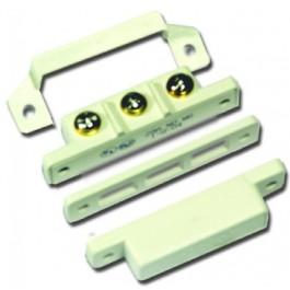Opbouw magneetcontac met schroefklemmen werkingsafstand 20mm
