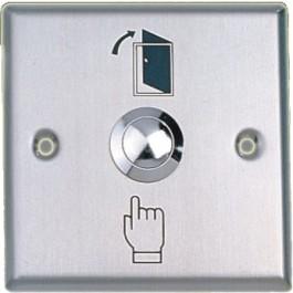 Stalen Exit drukknop voor openen deur
