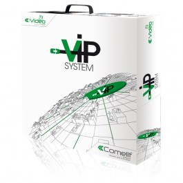 Comelit IP videofoon (VIP) systeem met PowerCom buitenpost  PC software