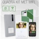 Cometit 2-draads Quadra kit met Wifi