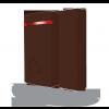 Jablotron JA-151MB draadloos mini magneetcontact - bruine versie